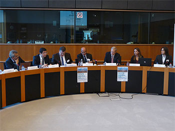 Spence at European Parliament